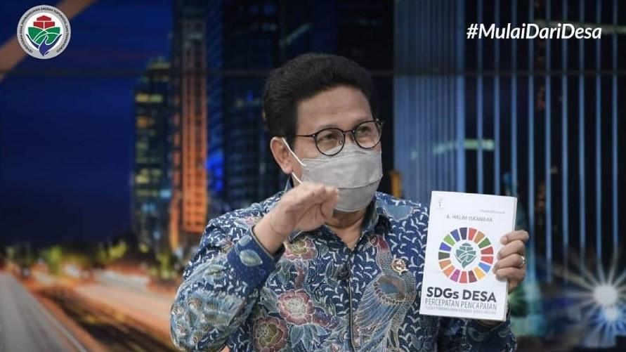 Mendes Luncurkan Buku SDGs Desa