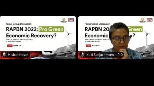 Press Release: APBN 2022 Harus Bertansformasi Menuju Ekonomi Hijau