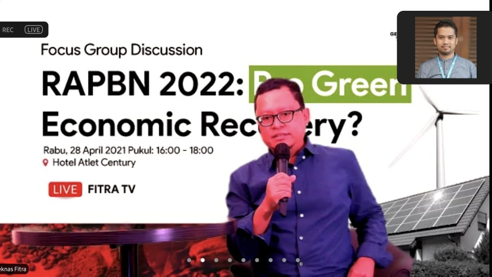 Press Release: Generasi Hijau Desak Pemerintah Susun RAPBN 2022 Lebih Pro-Lingkungan